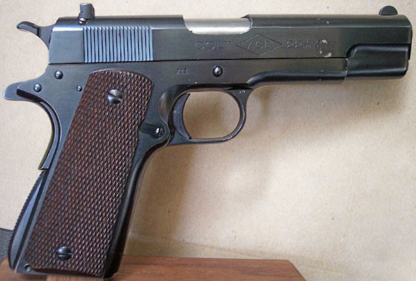 Colt    Ace 22 LR Pistol First Year of Production