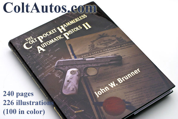 Colt Pocket Hammerless Models II by John W. Brunner