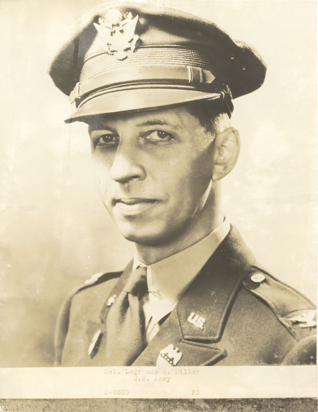Colonel LeGrande Albert (Pick) Diller