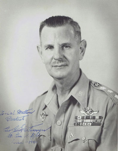 Lt. Gen. George E. Stratemeyer, USA (China, 1944)