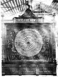 The Colt Display from the 1876 Centennial Exhibit