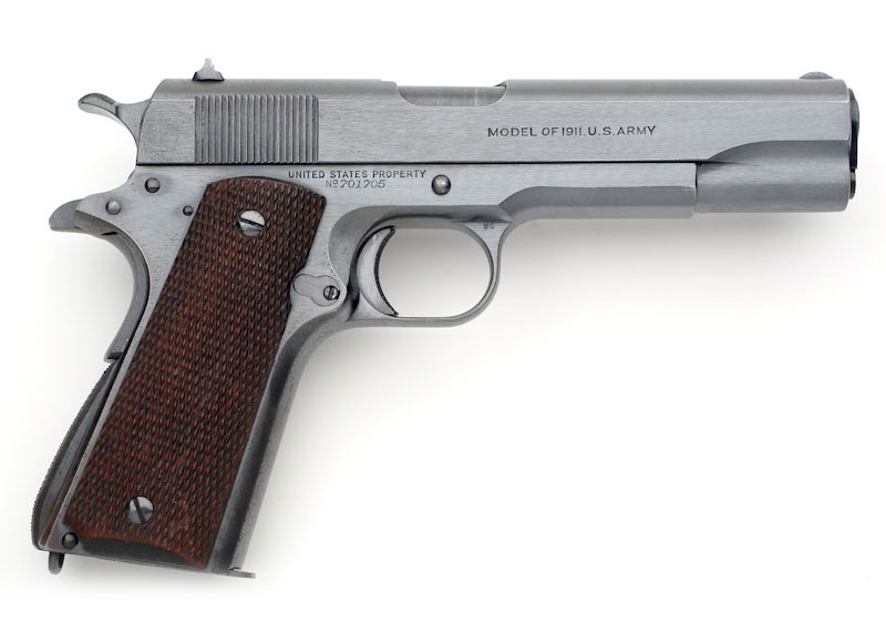 Colt Model of 1911 U.S. Army - 1924 Transition Model